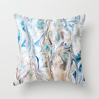 Gravity Painting 10 Throw Pillow