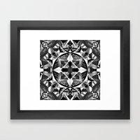 Glaciel Framed Art Print