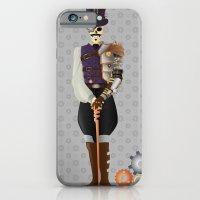 Steampunk Skeleton iPhone 6 Slim Case