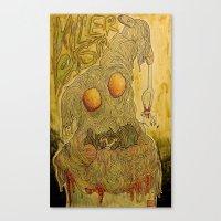 Killer Pasta Canvas Print