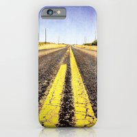 iPhone & iPod Case featuring 1000 miles to no where  by Mercedes Lopez