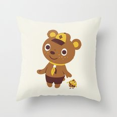 Door To Door Throw Pillow