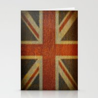Rusty flag Stationery Cards