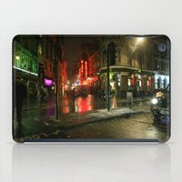 Snowing in London iPad Case