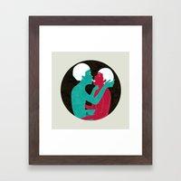 future lovers-no.2 Framed Art Print