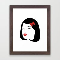Girl #4 Framed Art Print