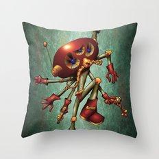 Späce äce Throw Pillow