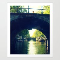 Early Hour Amsterdam. Art Print