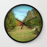 Branstool Orchards Wall Clock