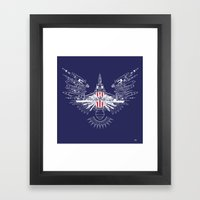 The American Way Framed Art Print