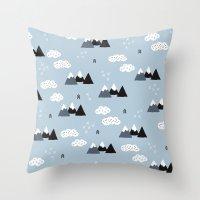 Cool Winter Wonderland S… Throw Pillow