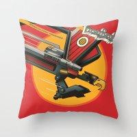 Laser Beak - Starscreaming Vengeance Throw Pillow