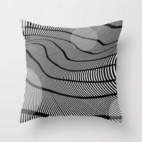 Mid-Century Mod 2 Throw Pillow
