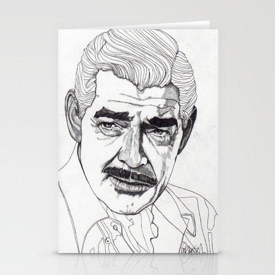Clark Gable Stationery Card