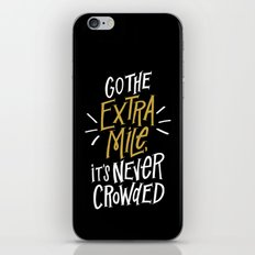 Go The Extra Mile iPhone & iPod Skin