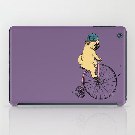Pug Ride iPad Case