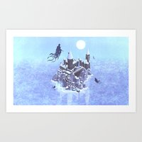 Hogwarts Series (year 3:… Art Print
