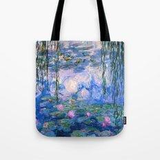 Water Lilies Monet Tote Bag