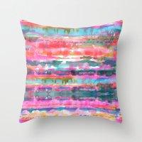 Kiana Stripe Throw Pillow