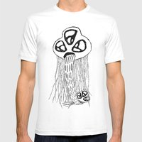 STELLARCREATURES Mens Fitted Tee White SMALL