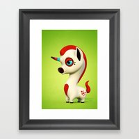 The Myth Framed Art Print