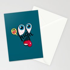 I'm Not High Stationery Cards