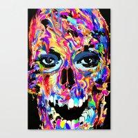 Balzak Skull Canvas Print