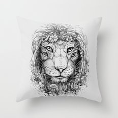 King of Nature Throw Pillow