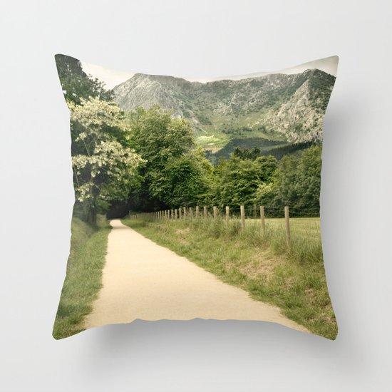 Anboto Throw Pillow
