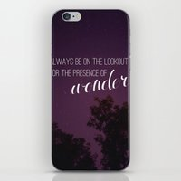 Presence Of Wonder. iPhone & iPod Skin