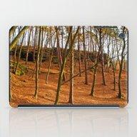 Tangerine Forest iPad Case
