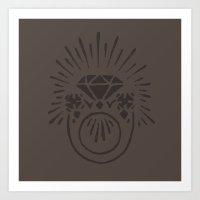 Ring Art Print