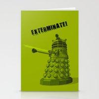 Dalek Stationery Cards