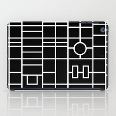 Map With Roundabout iPad Case