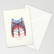 WOLF 3D Stationery Cards