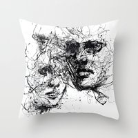 Our Lines, Our Story, It… Throw Pillow