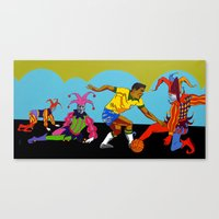 Garrincha Canvas Print