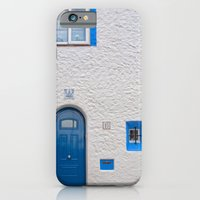 Blue door in Sitges iPhone 6 Slim Case