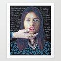 ::dream for a while:: Art Print