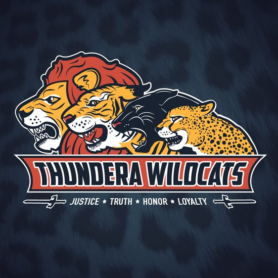 Thundera Wildcats Art Print