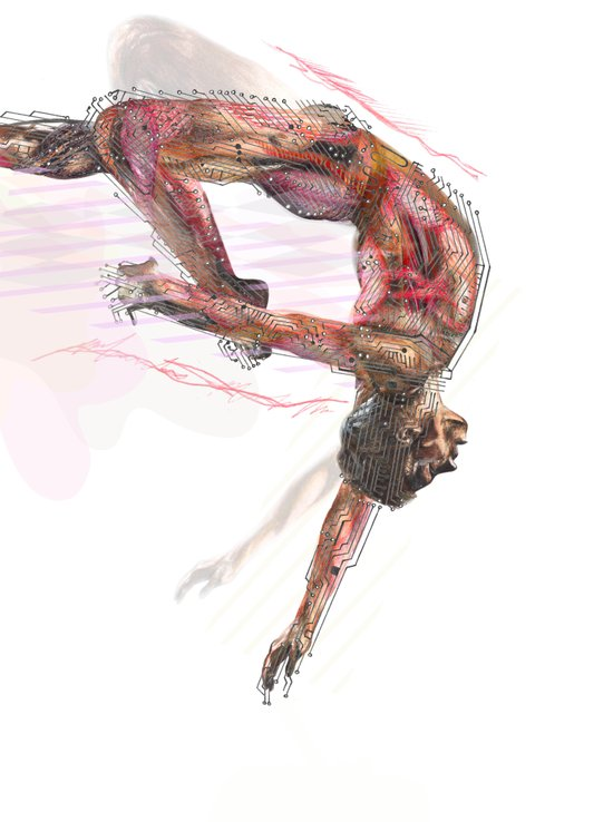 The Olympic Games, London 2012 Art Print