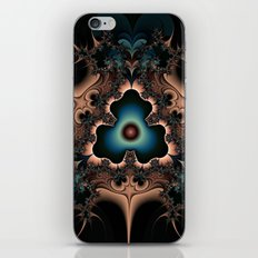 Layered hearts and thorns iPhone & iPod Skin