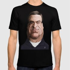 Celebrity Sunday ~ John Goodman Mens Fitted Tee Black SMALL