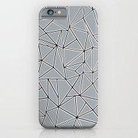 Abstraction Block Grey iPhone 6 Slim Case