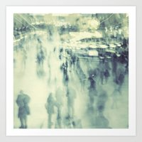 Ghosts of Grand Central Station Art Print