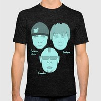 Breaking Bad - Faces - The Crew Mens Fitted Tee Tri-Black SMALL