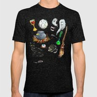 Night of the Witches Mens Fitted Tee Tri-Black SMALL