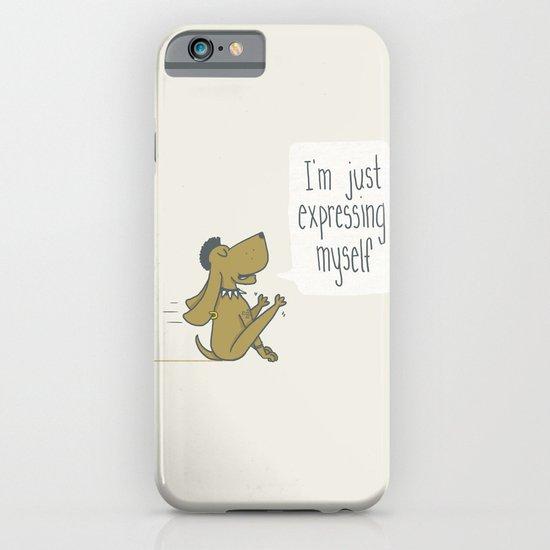 Dog Expression iPhone & iPod Case