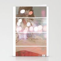 Lost In Thought Woman Stationery Cards