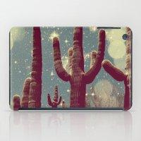 Space Cactus iPad Case